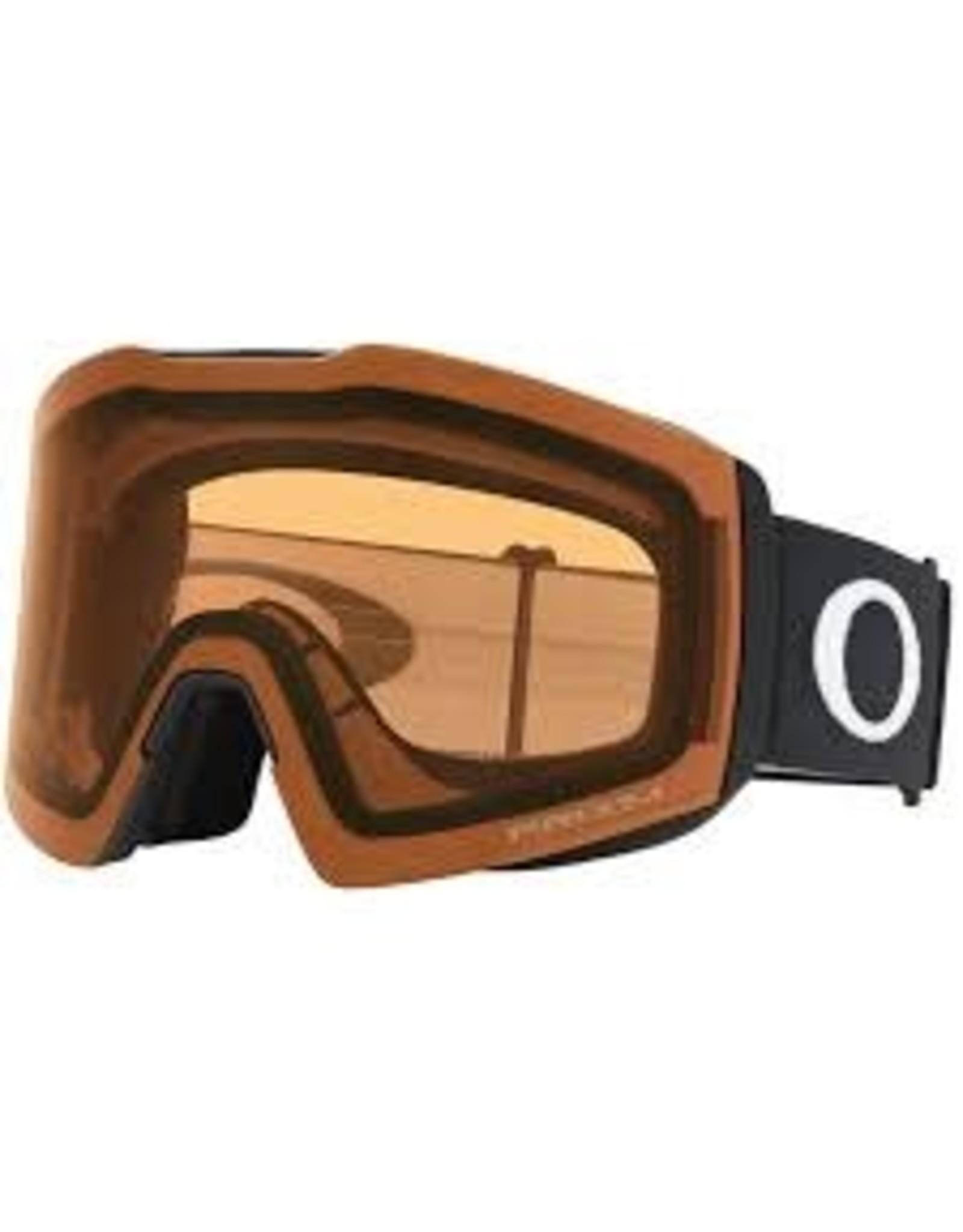 Oakley Oakley - lunette snowboard fall line XL Matte black prizm persimmon GBL