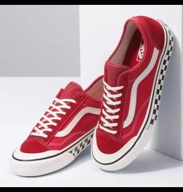 vans Vans - Soulier femme style 36 Decon SF (salt wash) red marshmallow