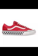 vans Vans - soulier style 36 Decon SF (salt wash) red marshmallow