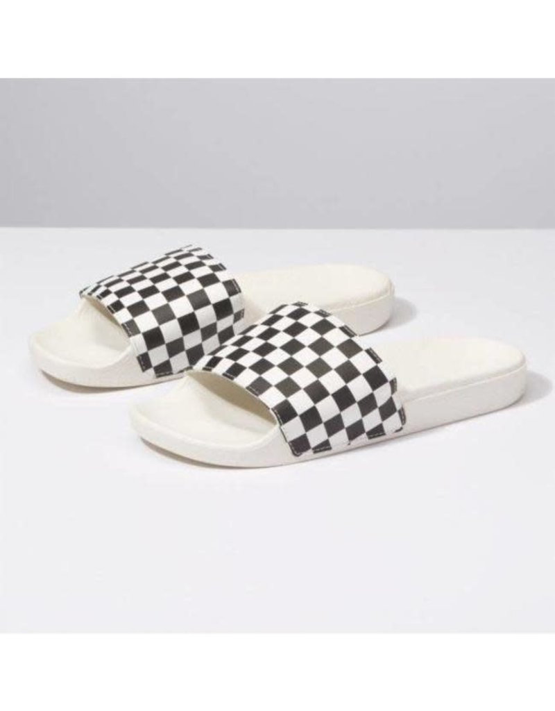 vans Vans - sandale Slide -on (checkerboard)white/black