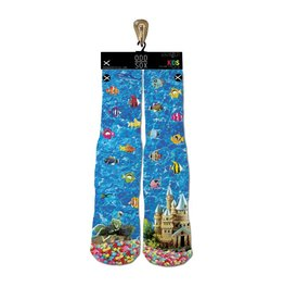 ODDSOX Oddsox - Bas junior kids fishies