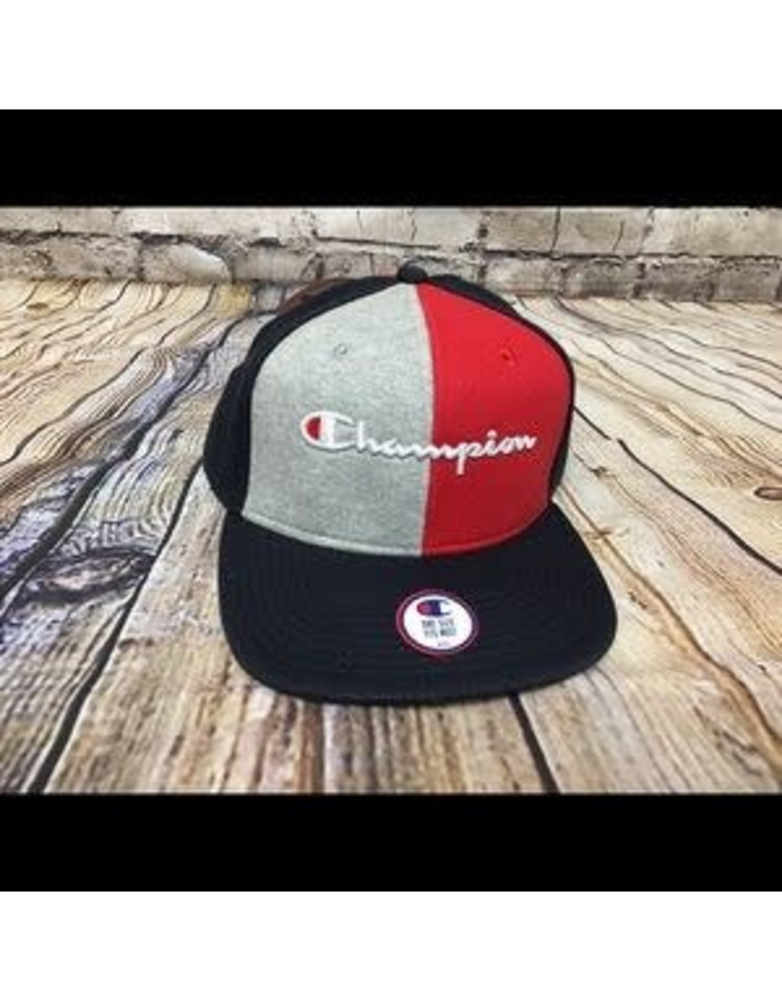 champion Champion - casquette reverse wave baseball colorblock navy/scarlet /grey