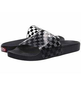vans Vans - Sandale  femme Zoe slide -on (checkerboard black)