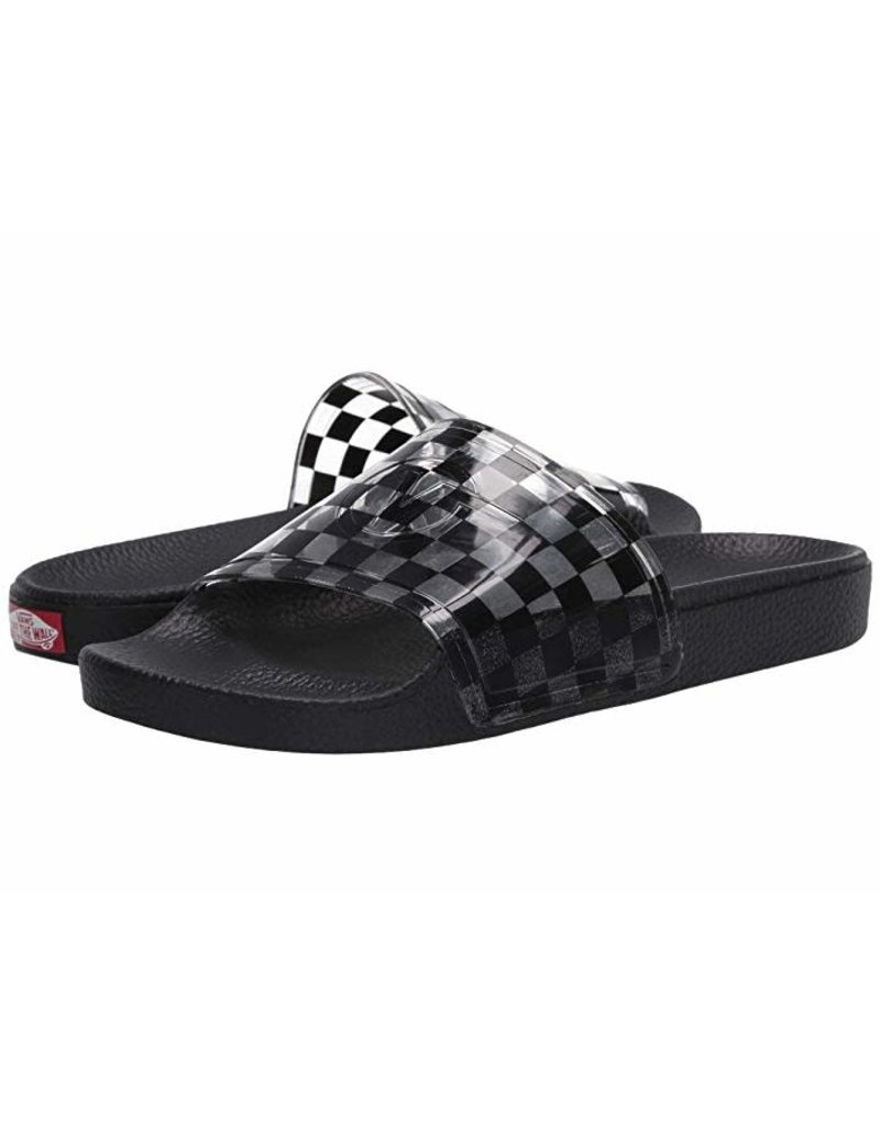vans Vans - sandale Zoe slide -on (checkerboard black)