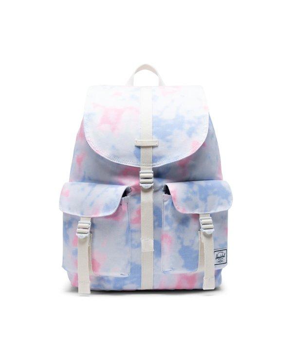 Herschel - sac à dos dawson tiedye/blanc de blanc