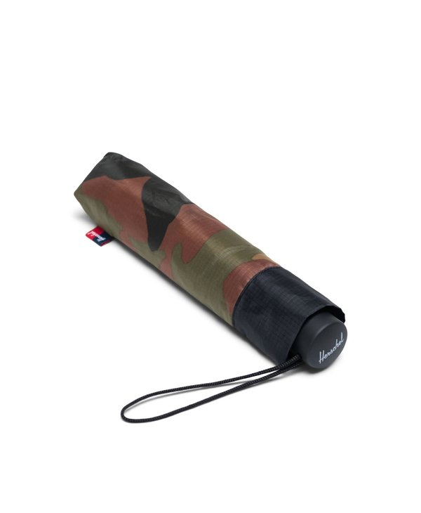 Herschel - parapluie compact woodland camo/black