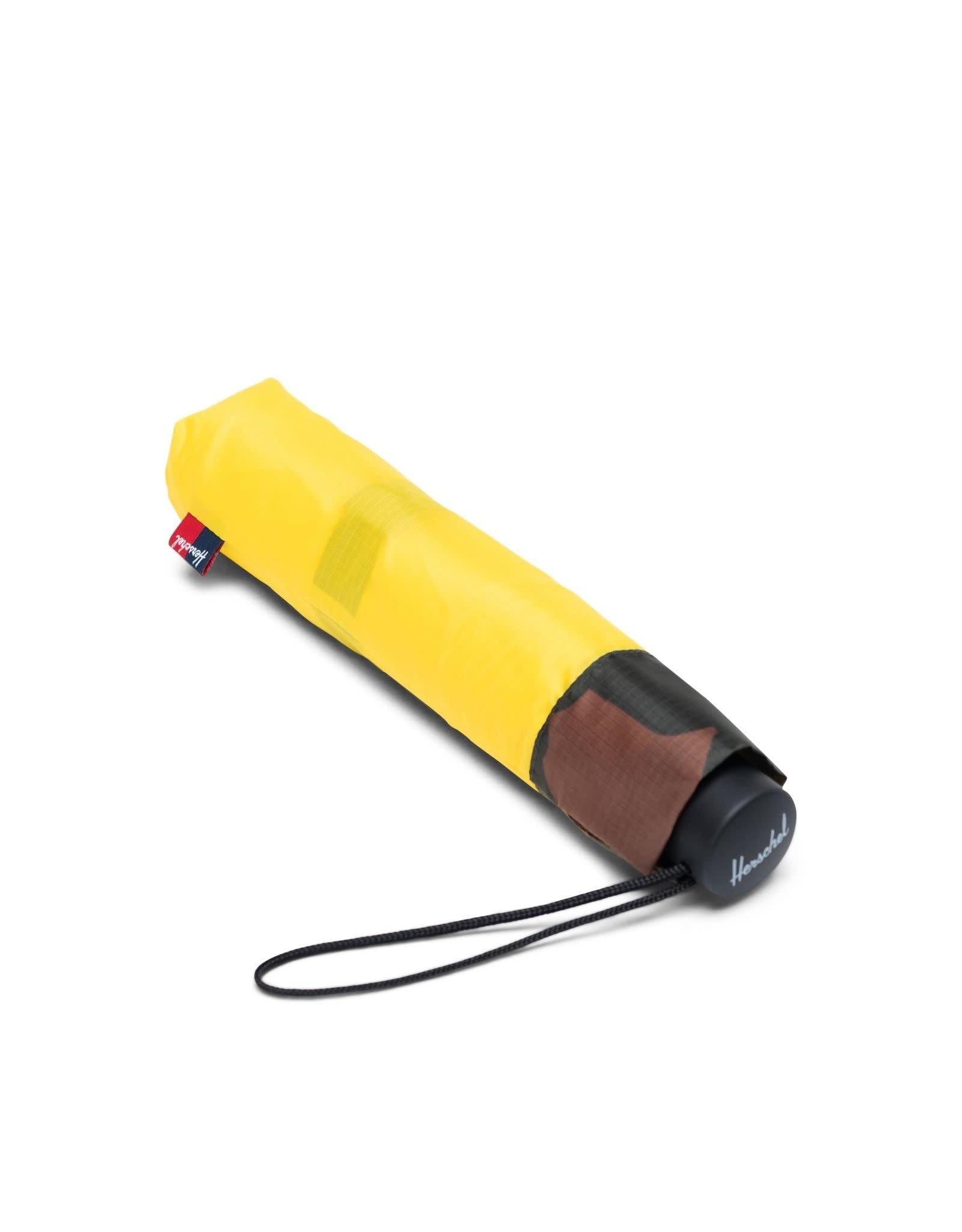 herschel Herschel - parapluie compact cyber yellow/woodland camo