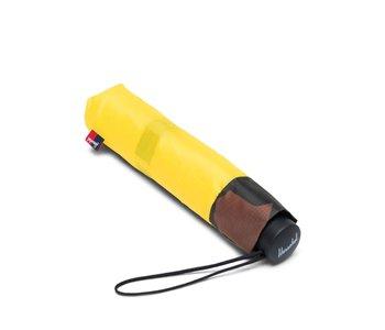 Herschel - parapluie compact cyber yellow/woodland camo