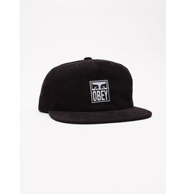 Obey Obey - Casquette Icon Eyes 6 Panel Strapback Black