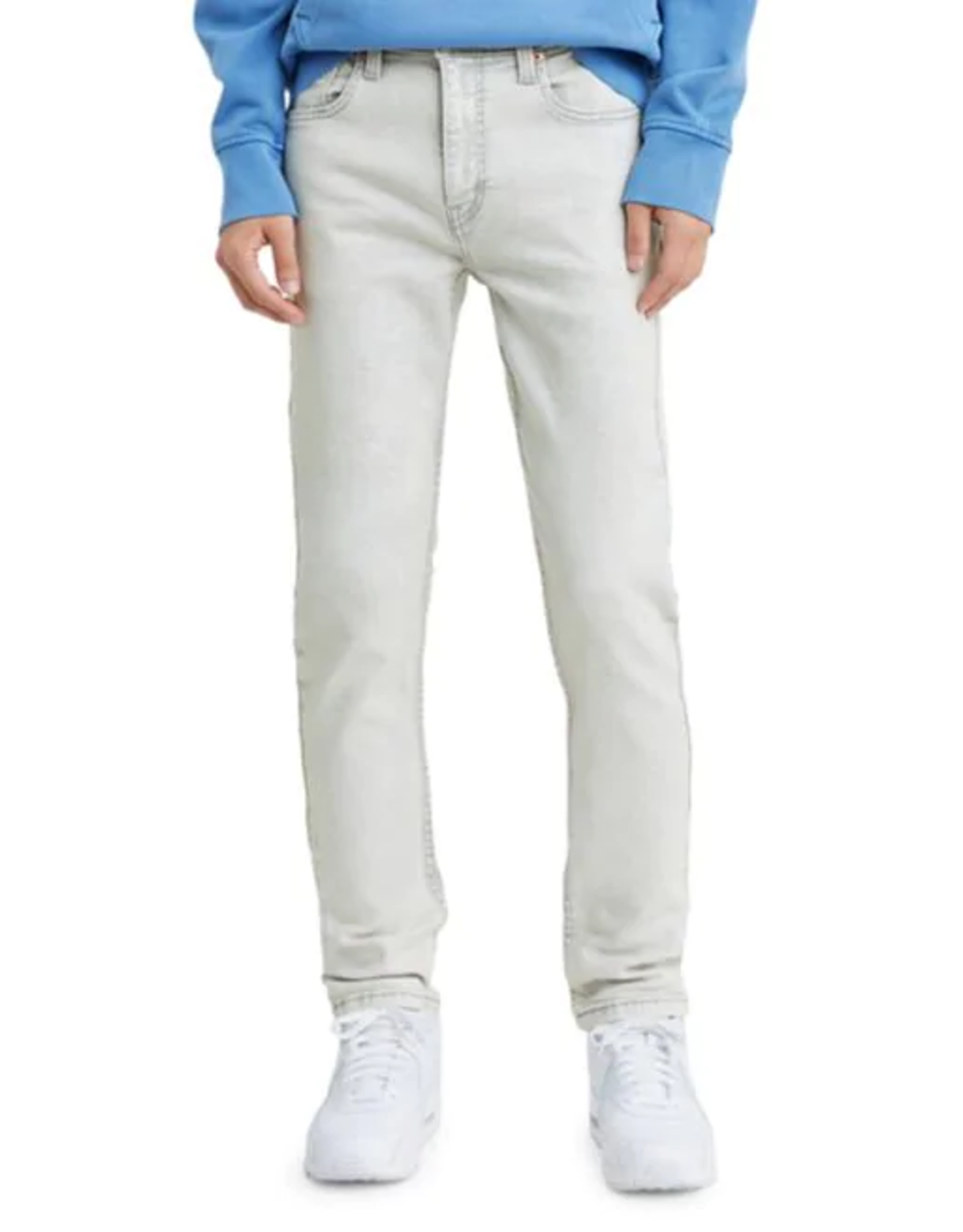 Levi's - jeans 512 slim taper fit flex cranberry crumble