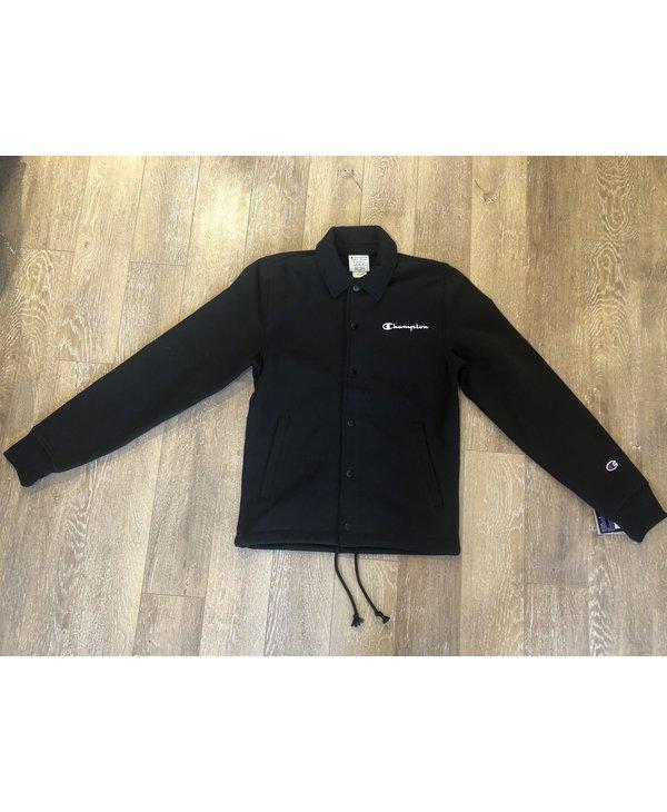 Champion - Manteaux Reverse Weave Coaches Black
