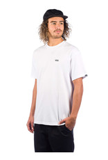 vans Vans - t-shirt left chest logo white/black