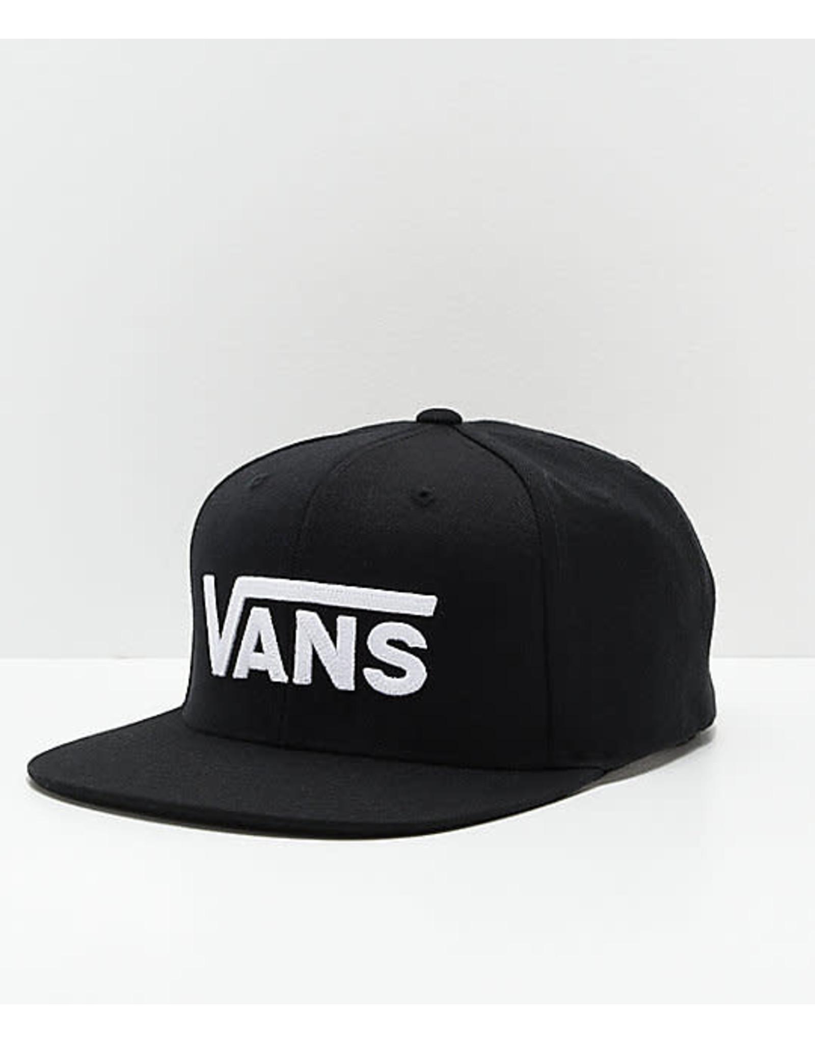 vans Vans - Casquettes Drop V II Snapback Black/White