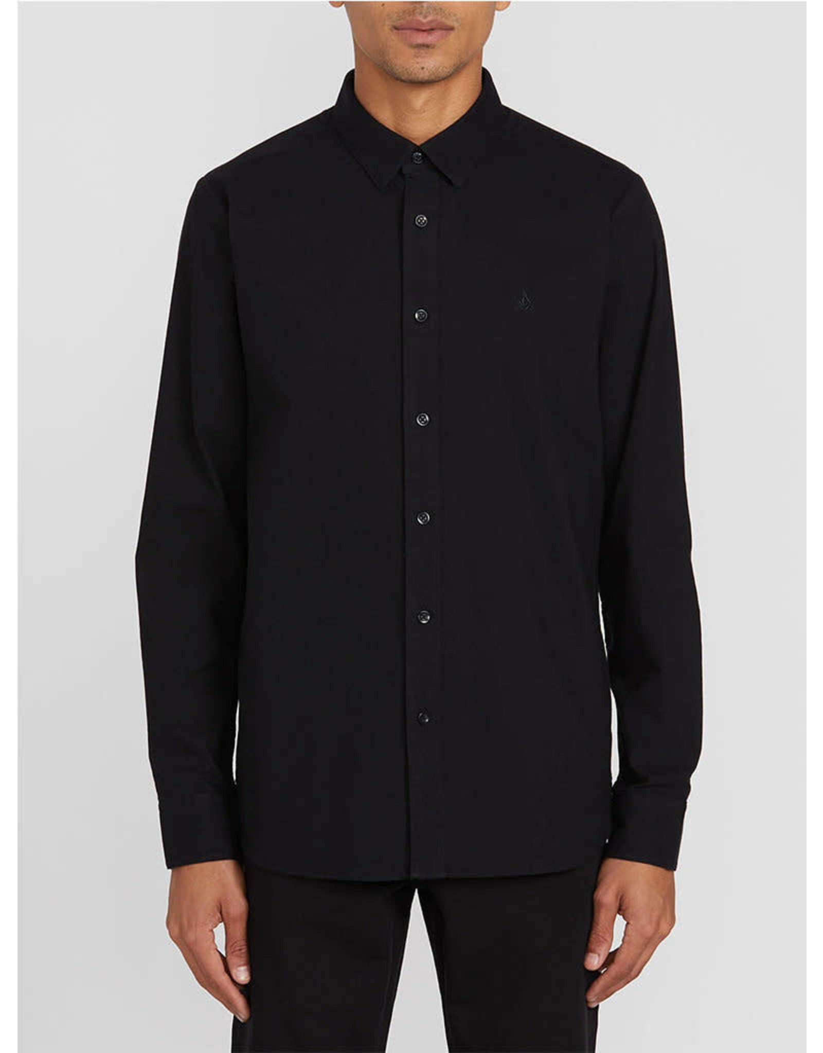volcom Volcom - Chemise Oxford Stretch L/S Black