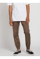 volcom Volcom - pantalon frickin slim jogger mushroom