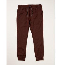 volcom Volcom - pantalon frickin slim jogger plum