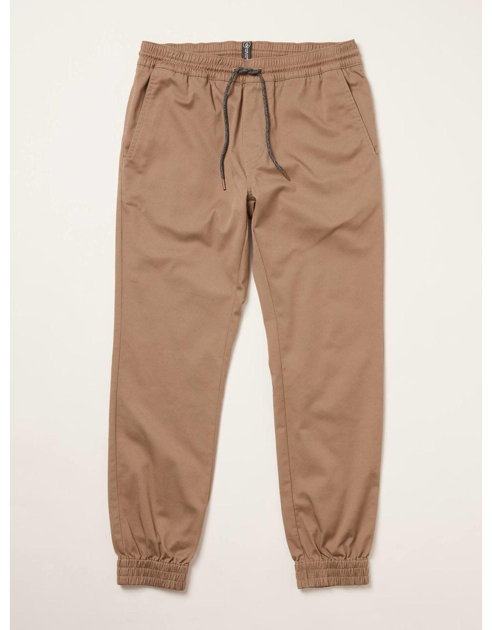 volcom Volcom - pantalon frickin slim jogger khaki