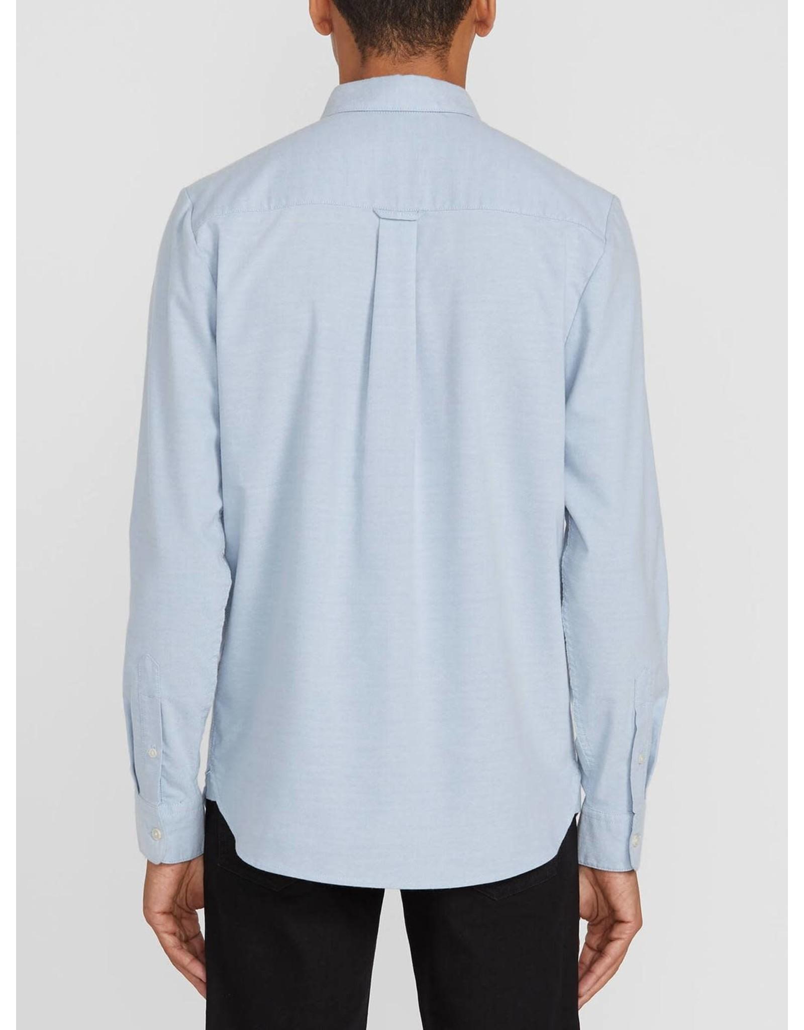 volcom Volcom - chemise oxford stretch wrecked indigo