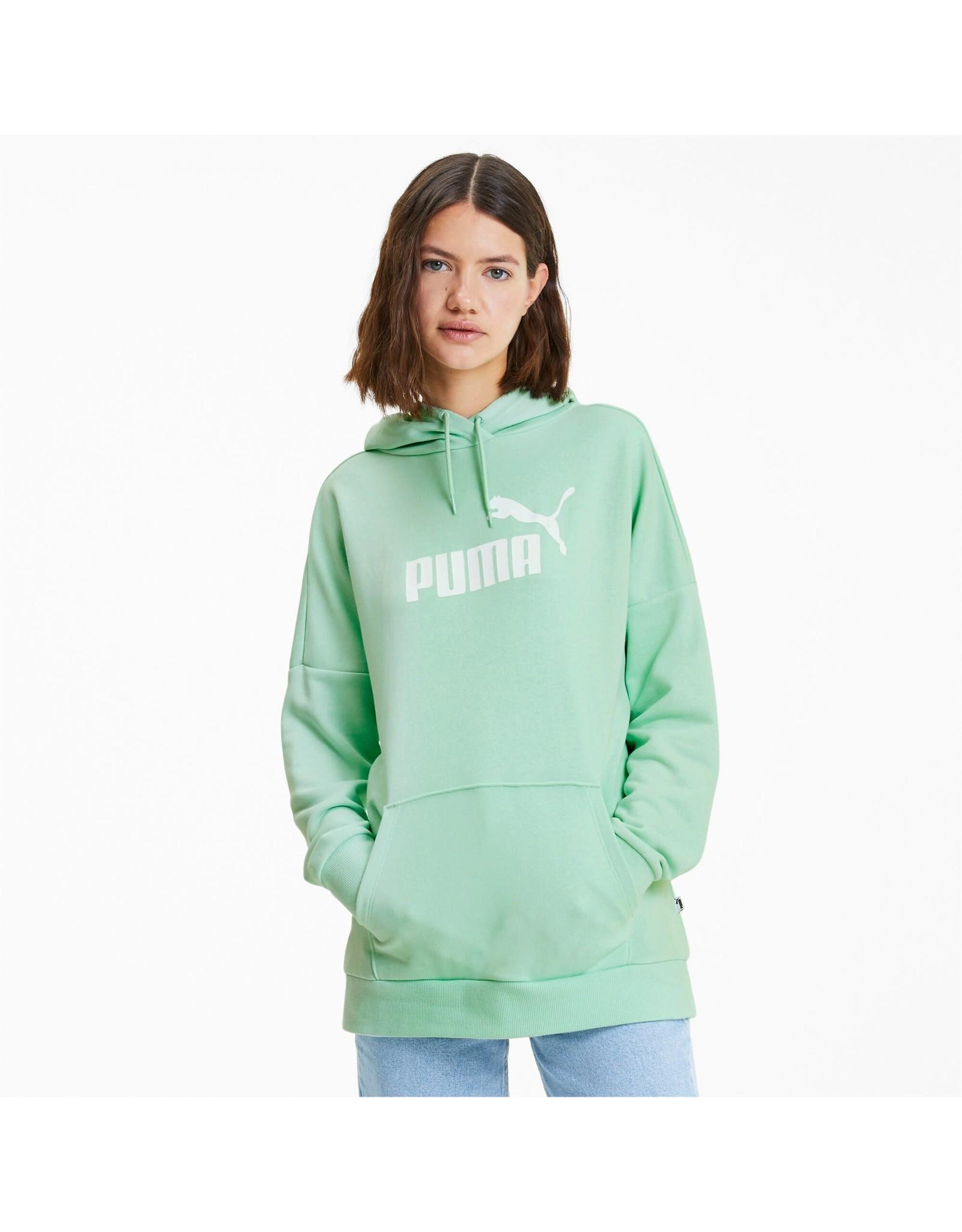 puma Puma - Ouaté Elongated Hoody Mist Green
