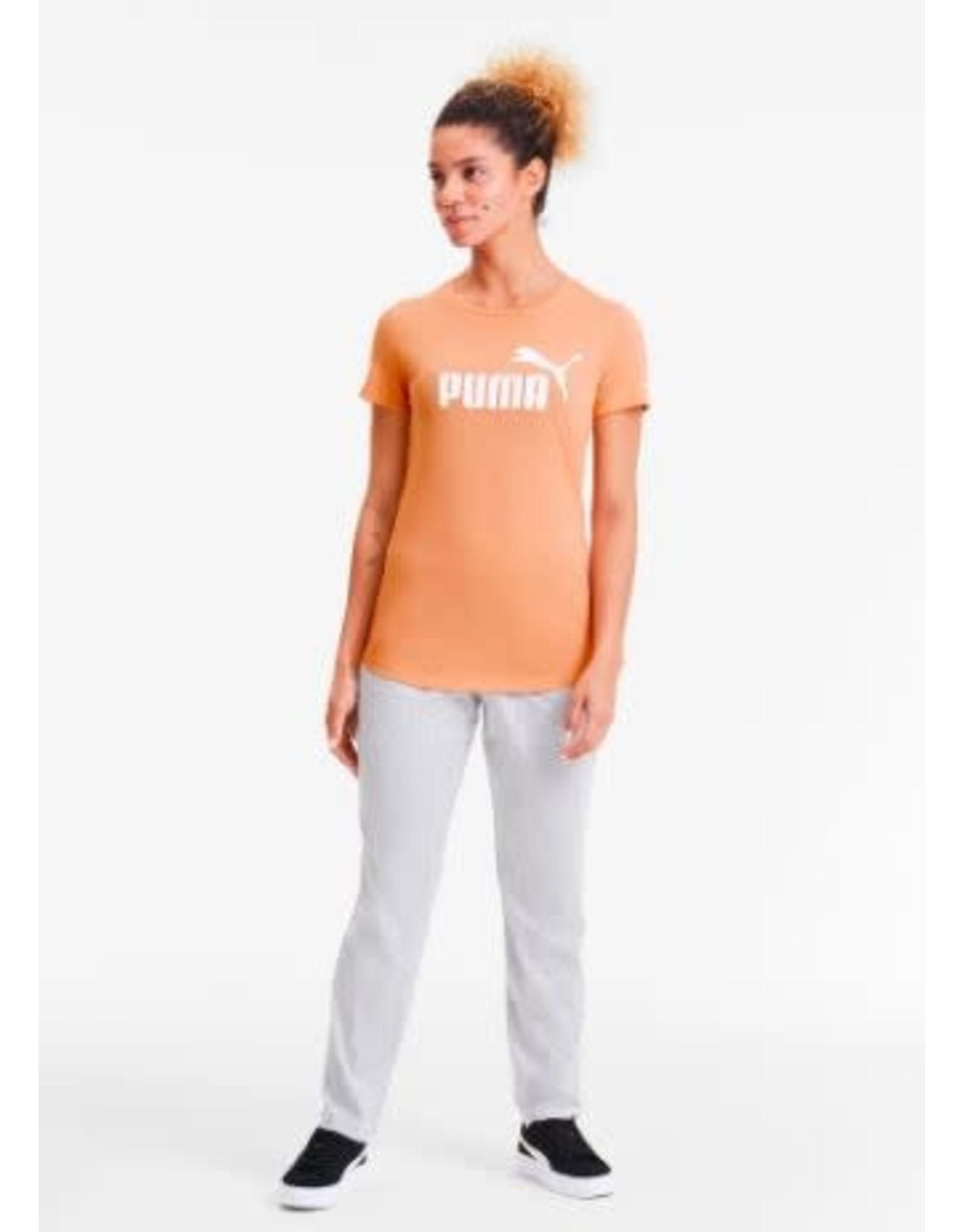puma Puma - T-shirt Logo Heather Cantaloupe