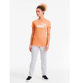 puma Puma - T-shirt Logo Heather Cantaloupe