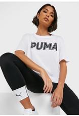 puma Puma - T-shirt Modern Sports Logo White