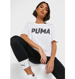 puma Puma - T-shirt Modern Sports Logo White