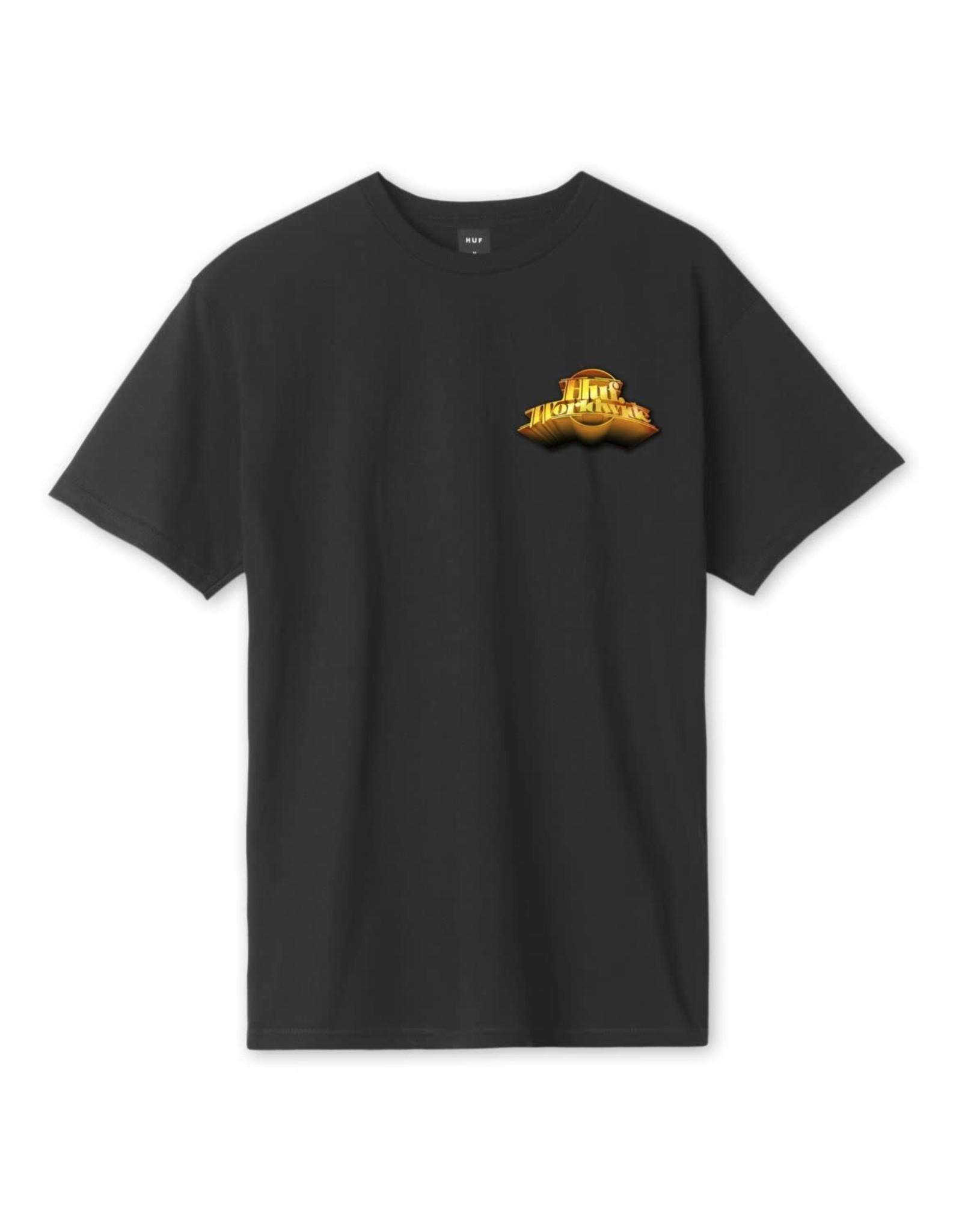 huf Huf - T-shirt Greatest Hits Black