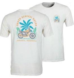 Roark Roark - T-Shirt Bengkel Motor White