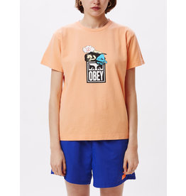 Obey Obey - T-Shirt Femme Angel Melon
