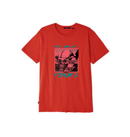 Obey Obey - T-Shirt Homme Meltdown Skull Rio Red