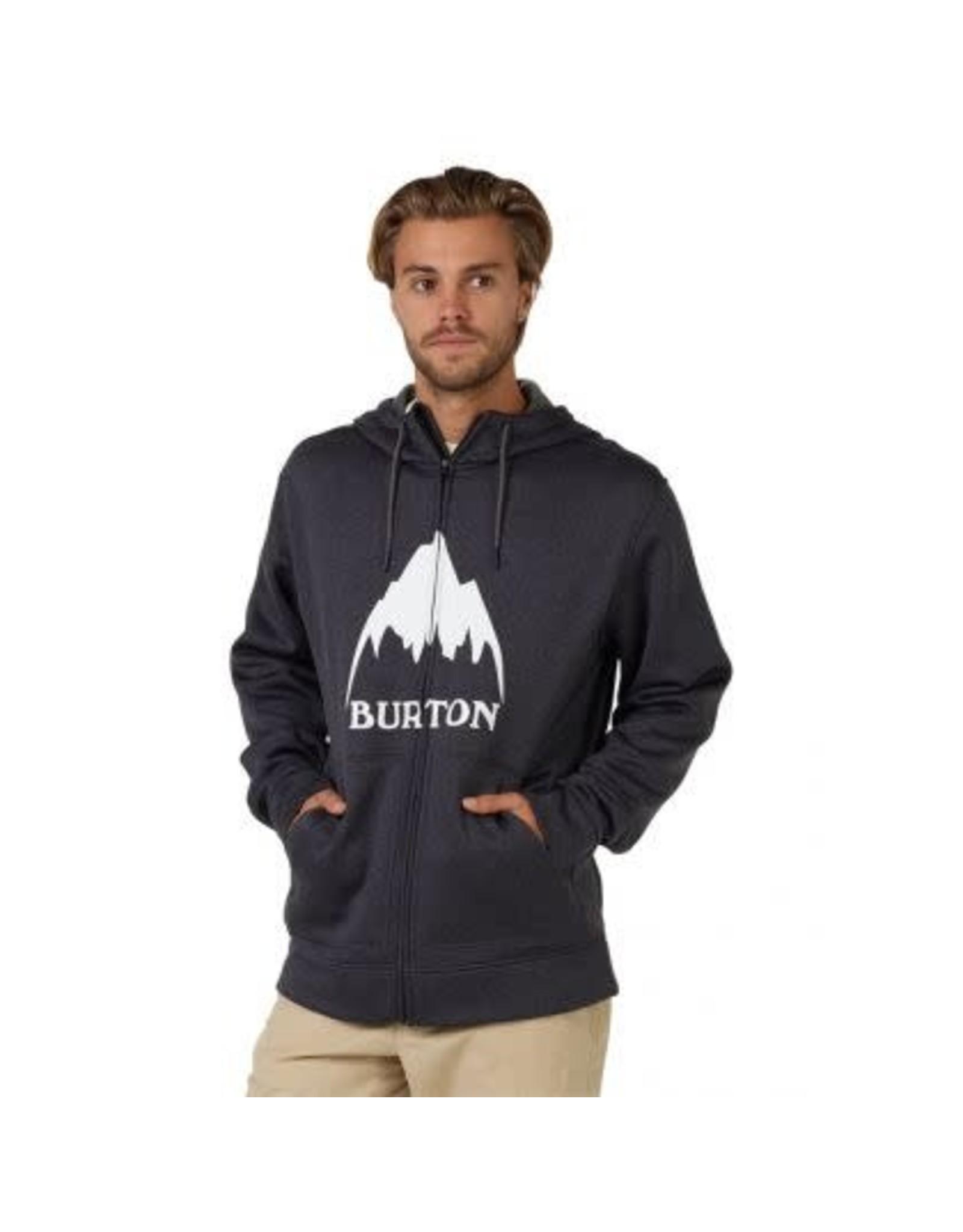 burton Burton - Ouaté homme full zip Oak true black heather