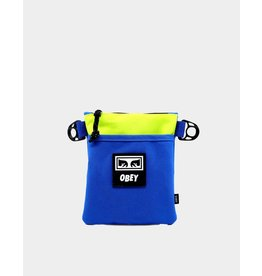 Obey Obey - Sac Banane Conditions Side Pouch III Blue Multi