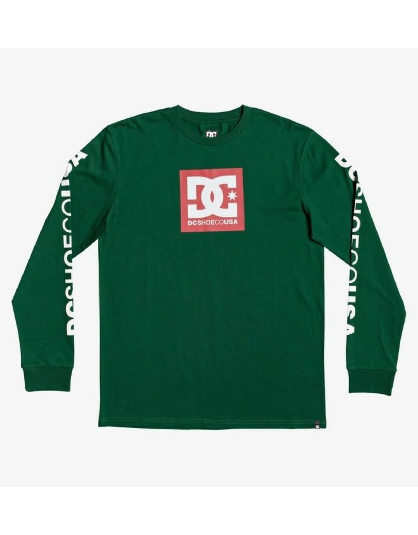dc DC - Chandail Long Homme Square Star Green