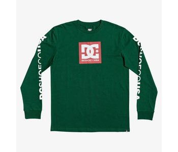 DC - Chandail Long Homme Square Star Green