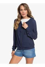 Roxy Roxy - Chandail Long Femme Like A Dreamrib Mood Indigo
