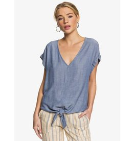Roxy Roxy - T-Shirt Femme Born To Try Mood Indigo
