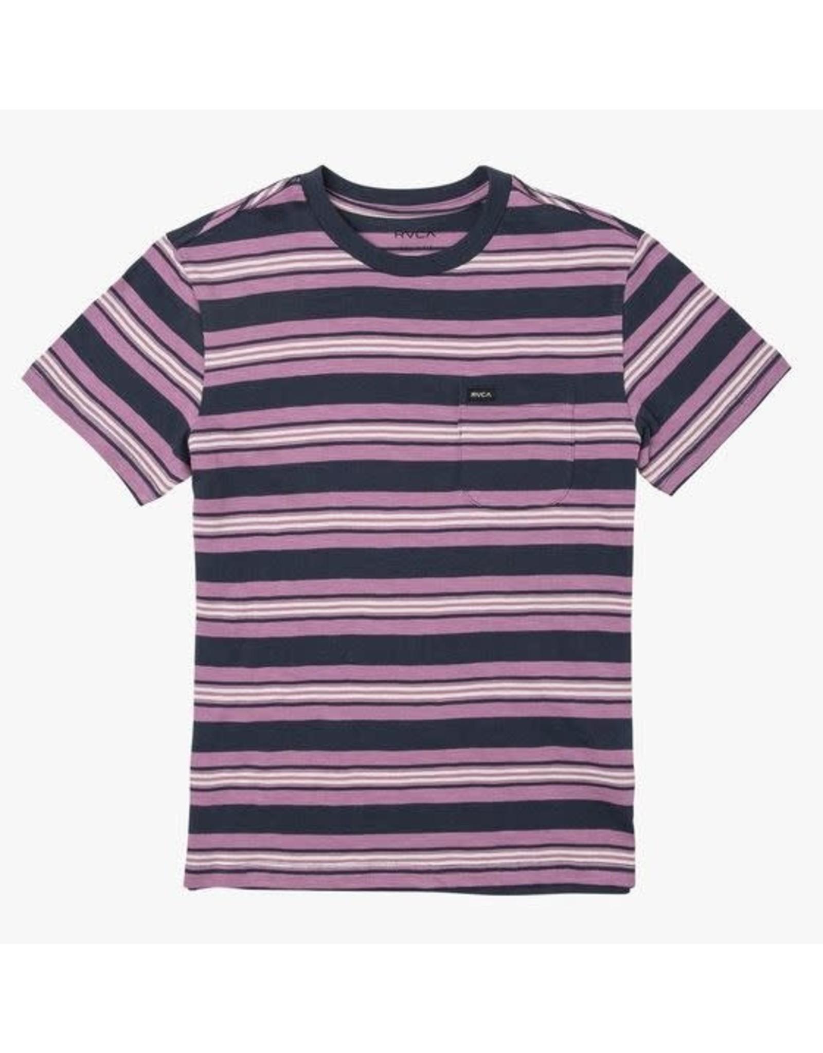 rvca Rvca - T-Shirt Graçon Damian Crew Moody Blue