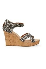 Toms - Sandale  femme strappy wedge
