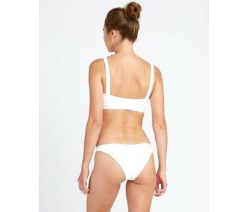 Rvca - maillot de bain white solid medium