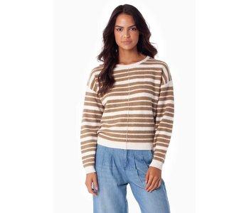 Rhythm - Pull femme ingelwood knit dune