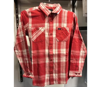 Rvca - Chemise  junior wanted flannel L/S