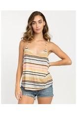 rvca Rvca - Camisole  femme clover striped