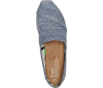 Toms - Soulier  femme classic washed -chambray