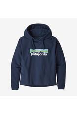 Patagonia Patagonia - Ouaté femme pastel p-6 logo uprisal classic navy