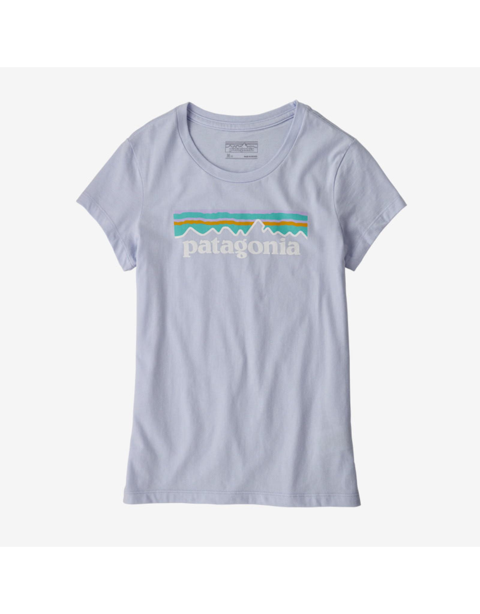 Patagonia Patagonia - T-shirt fille pastel p-6 logo organic beluga
