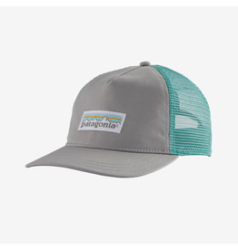 Patagonia Patagonia - Casquette femme pastel p-6 label layback tucker drifter grey