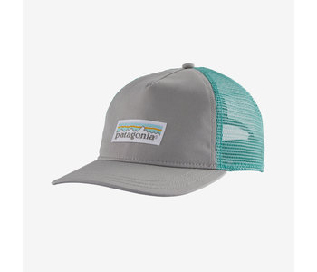 Patagonia - Casquette femme pastel p-6 label layback tucker drifter grey