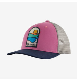 Patagonia Patagonia - Casquette fille trucker marble pink