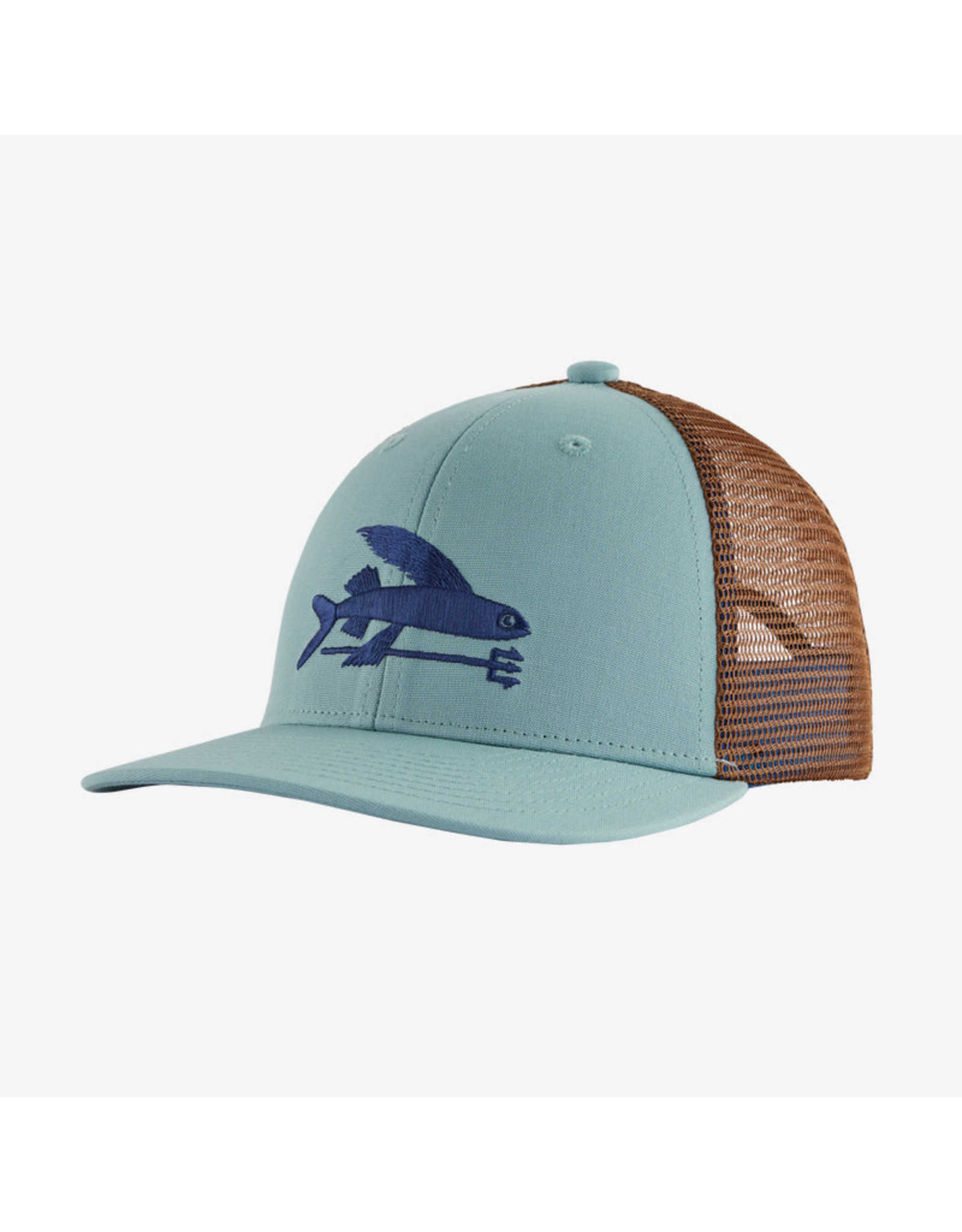Patagonia Patagonia - Casquette junior flying fish big sky blue